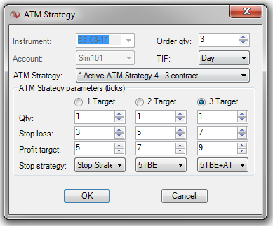 ATM Strategy